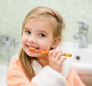 Brushing Teeth - Pediatric Dentist in Lees Summit, MO